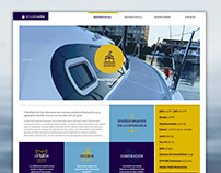 Astillero Alpha - Diseño web