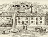 Spring Mill Distillery Rebrand by Steven Noble