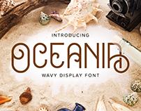 Oceania - Display Font