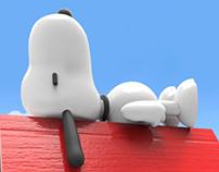 3D Snoopy House