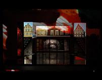 MUSICAL ROMEO I JULIA - DYPLOM  - projekt scenografii