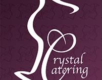 Crystal Catering Branding