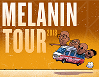 Sauti Sol Melanin Tour Animation