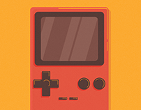 Retro Arcade Game Illustrations