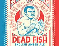 Rótulo - Cerveja Dead Fish