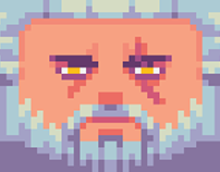The most low poly Geralt in the World!