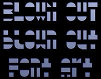 Blown Out - Free Font & Web Font