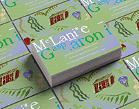 Business cards: Illustration and Graphic Design