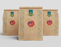 Donut logo and packaging design