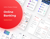 Online & Mobile Banking Selection | Development, UX/UI