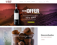 World Wine E-commerce - WEB/UX DESIGN