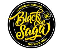 2017 Logo TIRO DE GRACIA - Black Clan Saga
