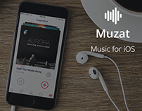 Muzat : IOS Music App