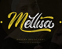 Mellisa Brush Font