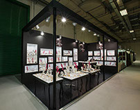 "Exhibition Booth for ""Catherine Bijoux"" company"