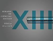 XIII Semana de Ciências Sociais