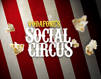 Vodafone's Social Circus
