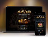 Arif V 216 Teaser Web Site