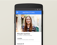 Visual Design for an Android App