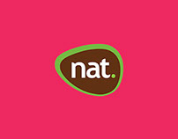 Nat Alimentos - Logo, Visual Identity & Packaging