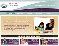 Therapy Solutions Website