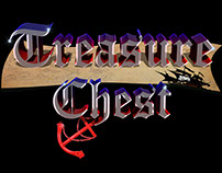"""Treasure Chest"" A Random Calligraphy Design"
