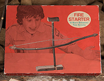 Fire Starter packaging