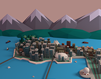 Low Poly Vancouver