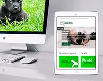 Rediseño web responsive para clínica veterinaria