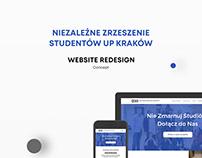 Niezależne Zrzeszenie Studentów UP - website redesign