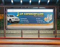 Fachada da empresa J Ar Condicionado