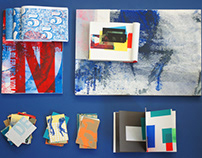 Caccivaccis - printmaking and notebooks