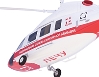 Концепт оформления вертолётов для НССА