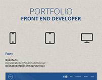 Front-End Developer / Portfolio