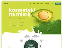 Natural cosmetics manufacture website