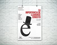 La importancia de llamarse Ernesto | Poster