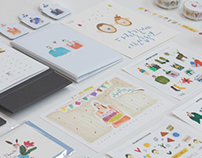 THE PARI DESIGN STATIONERY