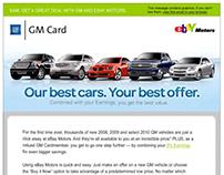 Ebay Motors Email | GM Card