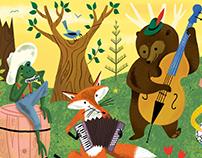 Woodland Wonderland Brush Kit & Tutorial Pack