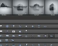 Icon Design for LumenRT Software