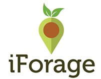 iForage branding and animation