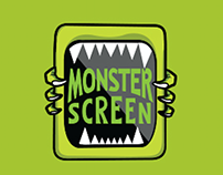 Logotype - Monster Screen