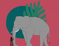 African Elephant love
