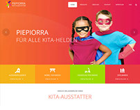 Kita Ausstatter Website Design
