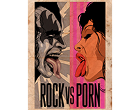 ROCK vs PORN