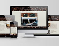 Coffee Bean Festival - Website Design