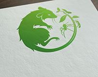 Pest Controls Character Logo