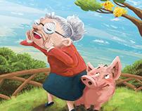 Weeble Feeble Grandma