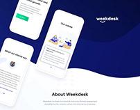 Weekdesk - Web Design & Brand Case Study