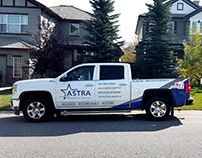 Astra Construction Management - Truck Wrap